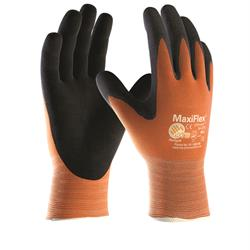 Maxiflex Ultimate Hi-Vis Orange Gloves