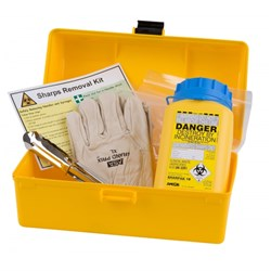 Sharps Removal Kit - Yellow