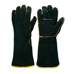 Frontier Black & Gold Welder Glove