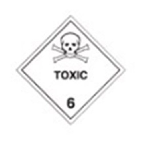 Toxi 6 Safety Sign