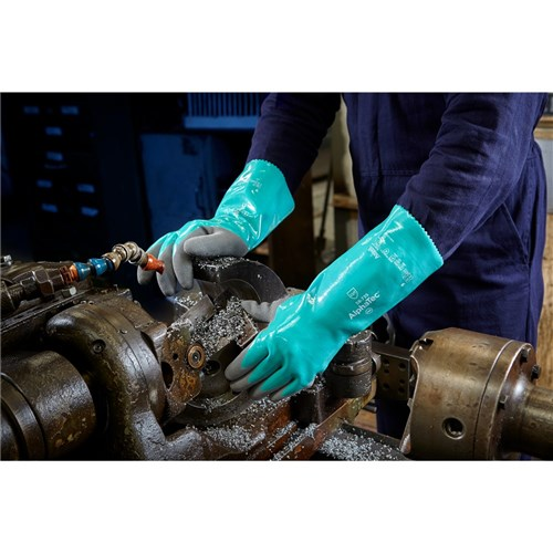 Ansell AlphaTec 58-735 Chemical and Cut Resistant Nitrile Gloves