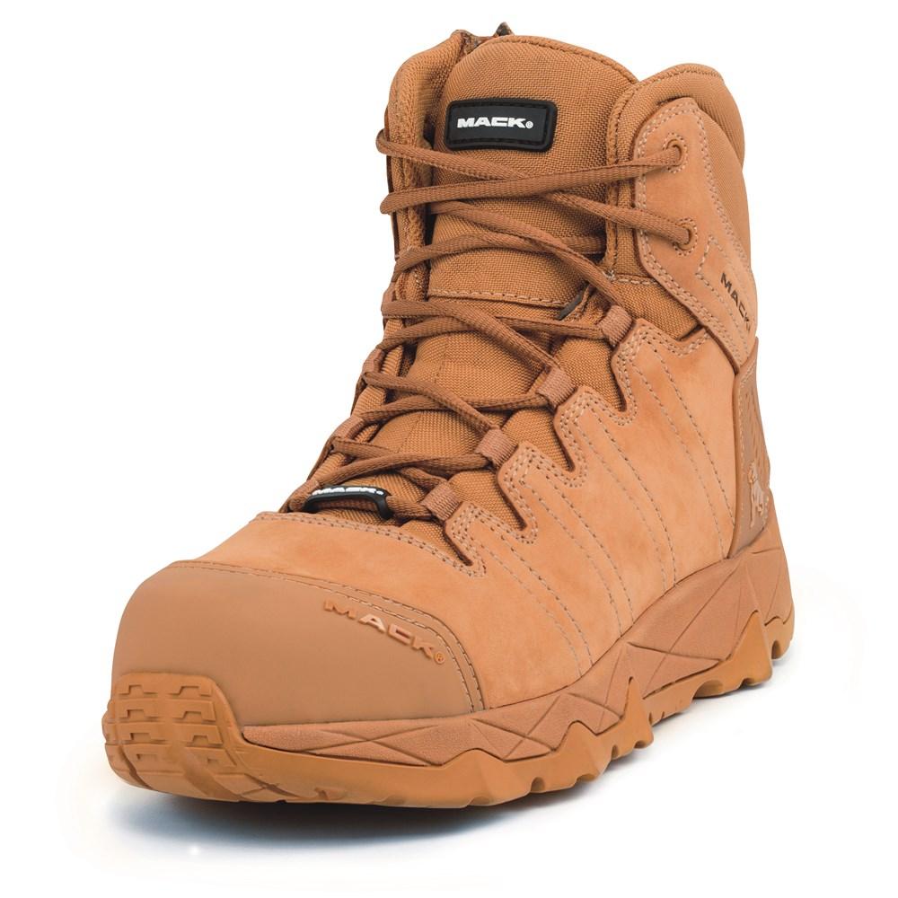 eeea3a52803 Mack Octane Zip-Up Safety Boots